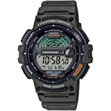 Casio Men's Fishing Timer Quartz Watch with...
