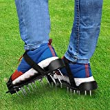 GoPPa Lawn aerator shoes - fully ASSEMBLED product, you only FIT ONCE on your gardening shoes. Ready for aerating your yard, lawn, roots & grass