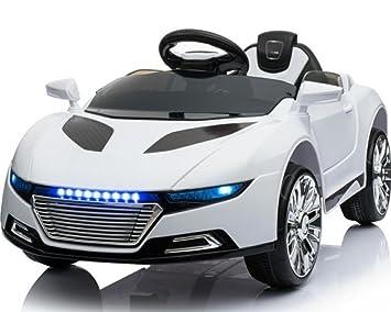 Toyas Kinder Elektro Auto Sportwagen Cabrio Kinderfahrzeug Mit