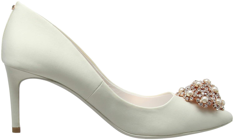 Ted Baker Damen Dahrlin (Ivory Geschlossene Ballerinas, weiß, Weiß (Ivory Dahrlin Ivory) 927fed