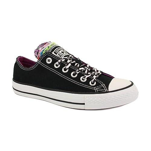 Converse All Star Multi Tongue 540276F Womens Zapatillas Deportivas para Mujer Negras y Leopardo - 37œ: Amazon.es: Zapatos y complementos