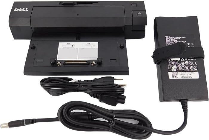 Dell Latitude E-Port Plus Replicator PR02X With 130W PA-4E AC Adapter
