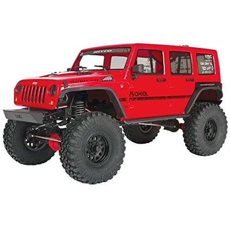 Marvelous Axial SCX10 II U002717 Jeep Wrangler Unlimited Crc 4WD Off Road 4x4 Electric RC