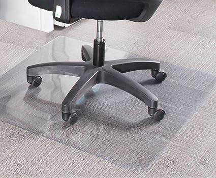 Bodenschutzmatte 120x120cm für HartbödenFarbe schwarzBürostuhlunterlage