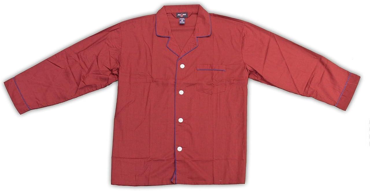 Fox Fire Mens Fire Big Tall Long Sleeve Solid Pajamas