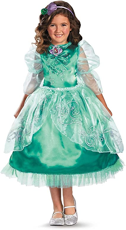 Disguise Disneys The Little Mermaid Ariel Sparkle Deluxe Girls Costume, 3T-4T: Amazon.es: Juguetes y juegos