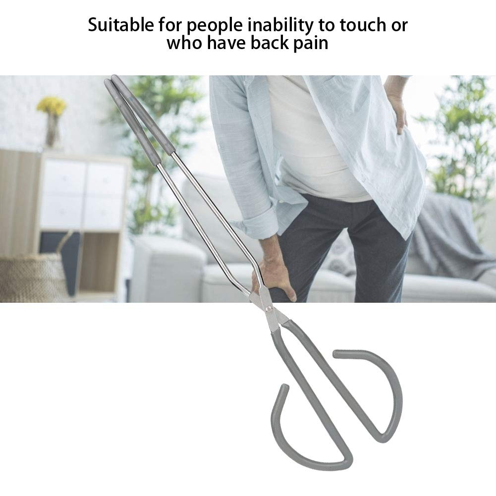 Long Bottom Wiper Aids for Independent Daily Living 12inch Lightweight Self-Wipe Hygiene Assistance Tool Toilet Aid Toilet Paper Tongs Wiping Aid for Bathroom Comfort