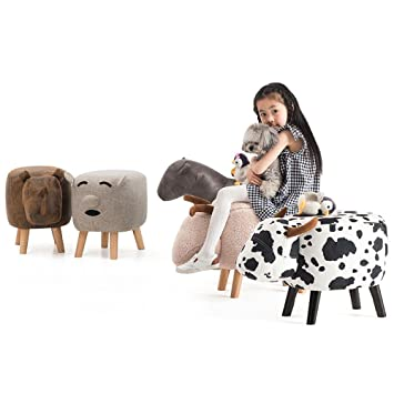 Fuß aus Holz Hocker Hocker Stühle kleine hölzerne Hocker Tier Design ...