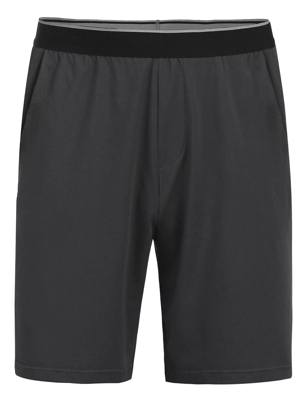 Acecor Men Cotton Soft Comfort Loose Gym Pajama Bottoms Sleep Shorts Pants S-XXL
