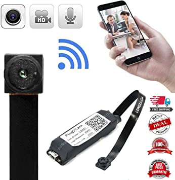 wireless WIFI IP spy hidden nanny Pinhole DIY screw small camera mini video dvr