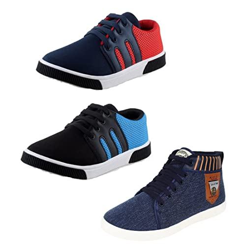 super populaire e19fb 46e43 Bersache Men Combo Pack of 3 Casual Shoes