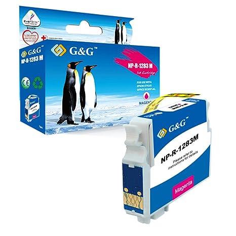 G&G Compatible Tinta Cartucho Reemplazo Para Epson STYLUS ...