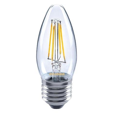 Sylvania 0027284 Toledo Retro lámpara LED Vela, cristal, Home luz, E27, 4