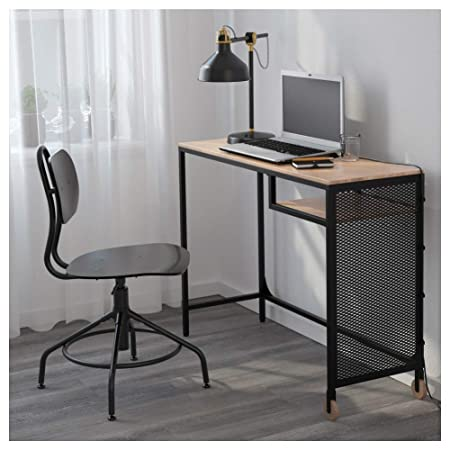 IKEA ASIA FJALLBO Mesa para ordenador portátil, color negro: Amazon.es: Hogar
