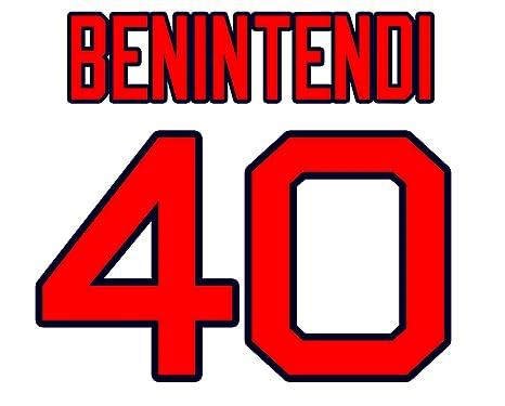 size 40 a7e51 5992b Andrew Benintendi Boston Red Sox Jersey Number Kit ...