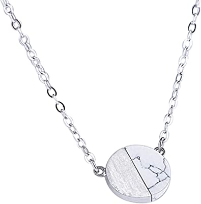 collier femme rond or