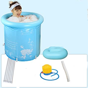 Neutral Inflatable Bathtub For Adults And Baby Spa Collapsible ...