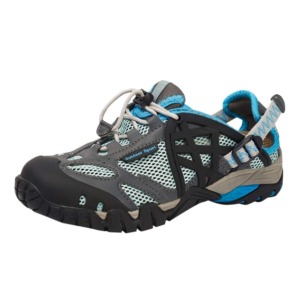 Kiminana Outdoor Shoes,Women's Summer Outdoor Wading and Quick-Drying Shoes Casual Sports Breathable Upstream Women's Shoes Blue