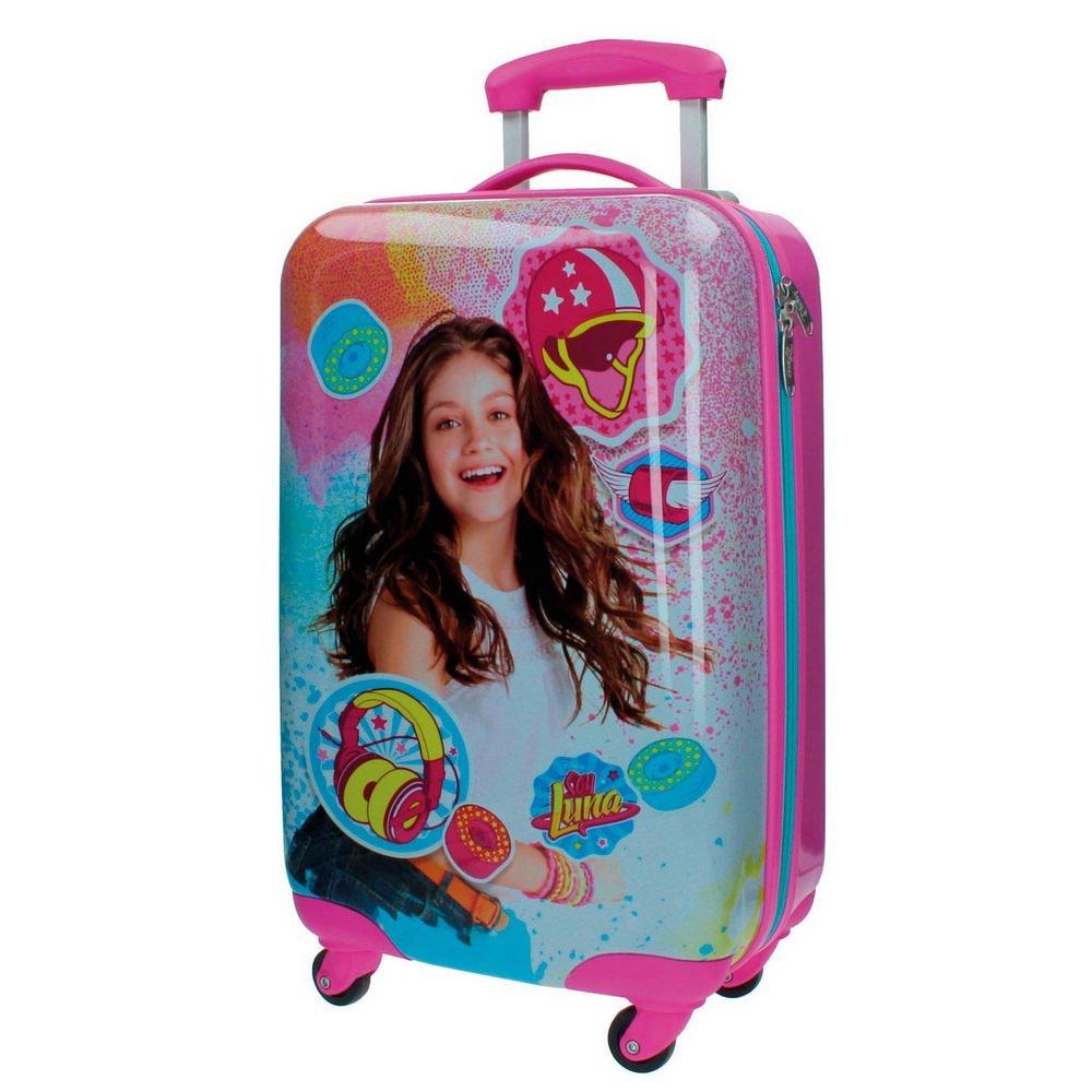 Disney Kabinenkoffer Ich bin Luna Kindergepäck, 33 Liter, Rosa