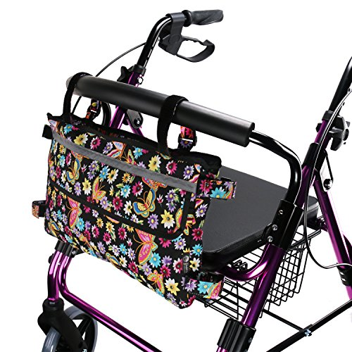 TOMMHANES AMISGUOER Walker Bag for Walker and Scoote 15.7''X9.8'' by TOMMHANES AMISGUOER
