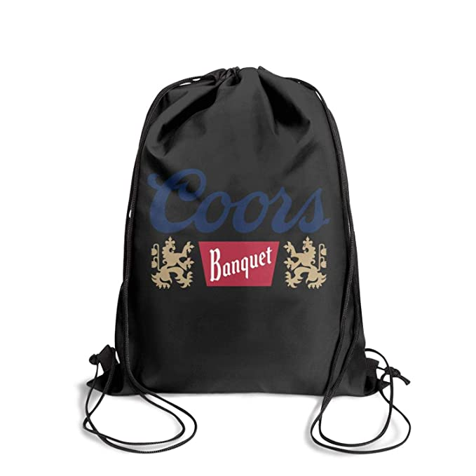 Amazon.com | Jdadaw Drawstring Backpack Coors-Banquet-Logo ...