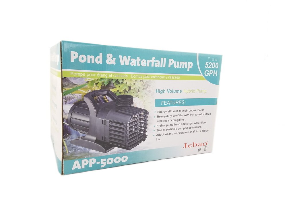 Jebao APP-5000 Pond and Waterfall Pump, 5200GPH by Jebao