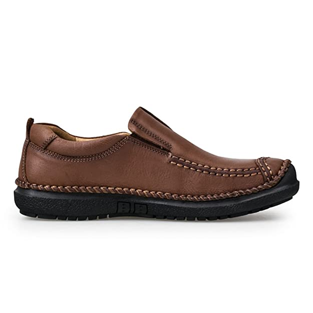 Men's Slip Ons Loafers Casual Driving Shoes Cow Suede Soft Flats QIANLING  COLLECTION: Amazon.co.uk: Shoes & Bags