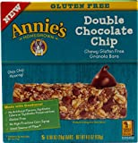 Annie's Homegrown Chewy Gluten Free Granola Bars Double Chocolate Chip -- 5 Bars - 2 pc