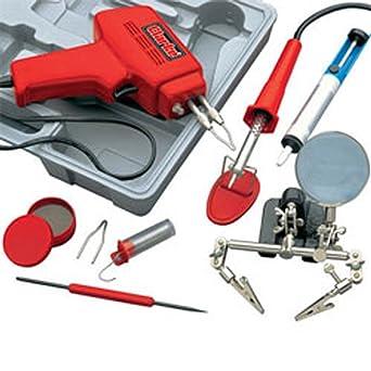 Soldadura Pistola Kit 100W Soldador Set & Luz 3400760 CSK100