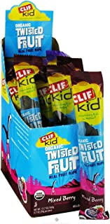 product image for Clif Bar Organic Mixed Berry Twisted Fruit, 0.7 Ounce - 18 per case.