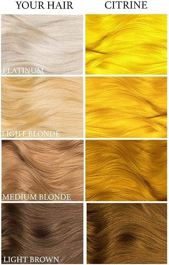 Lunar Tides Tinte de cabello amarillo citrino