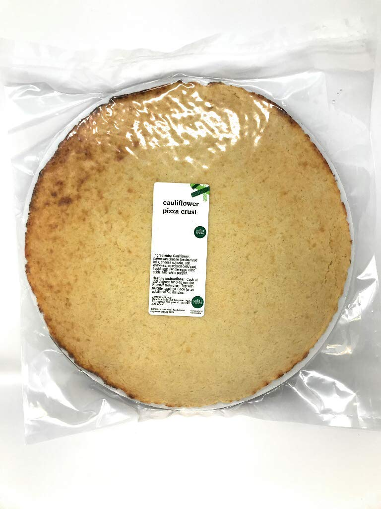 Whole Foods Market, Pizza Crust Cauliflower 12 Inch Fresh Pack, 12 Ounce