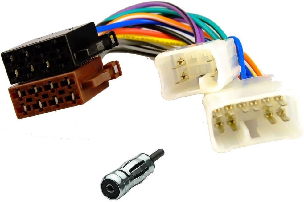 Radio Anschluss Kabel Adapter Für Daihatsu Lexus Toyota Vw Auf Iso Navigation