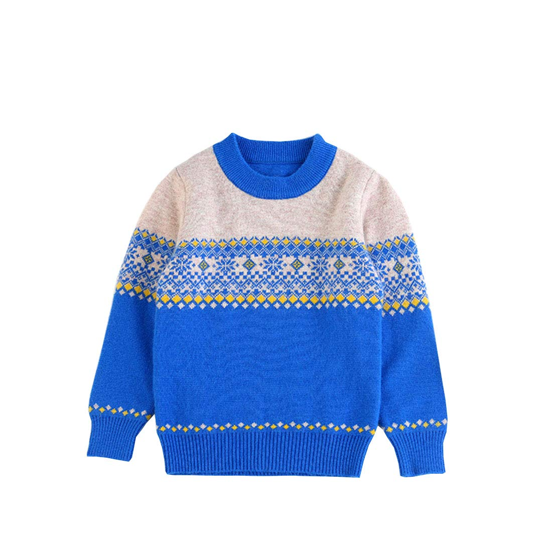 Euno Boys Circular Collar Sweater
