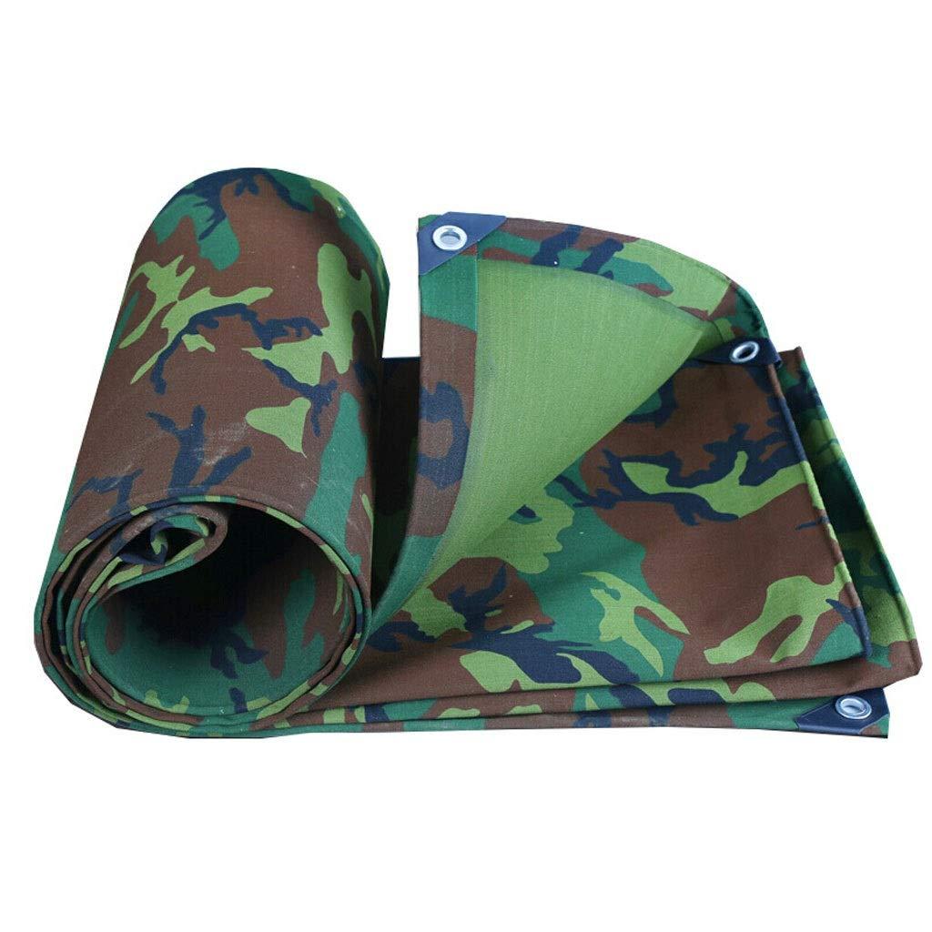 Leqi Auvent FJZ Camouflage Toile épais Tissu Imperméable Imperméable à l'eau Solaire BÂche Toit Canopée Auvent Tente Rain Cloth Auvent extérieur  300400cm