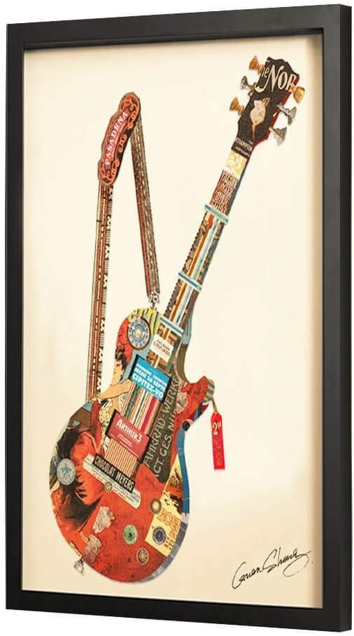 Kunstloft® 3D Collage del Arte Imagen Rock 4 Ever 24x32inches ...