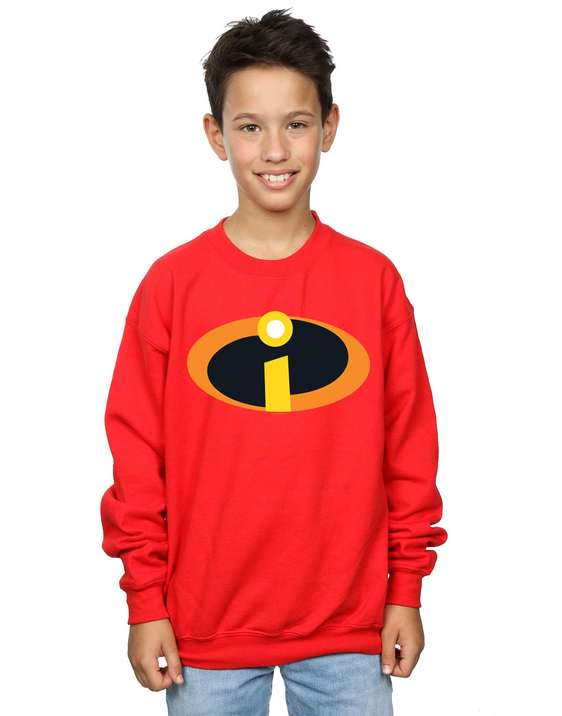 Disney Boys The Incredibles 2 Costume Logo Sweatshirt Absolute Cult