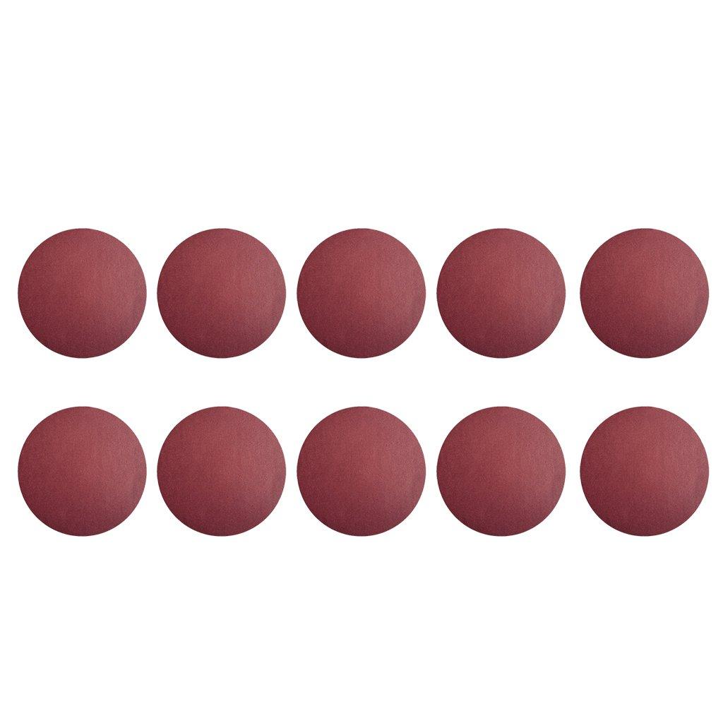 Homyl 10 Stü ck Schleifscheiben Schleifpapier Set Trocken/Nass fü r Automobilschleifen, 16 verschiedene Kö rnung, Ø 150mm - 1500#