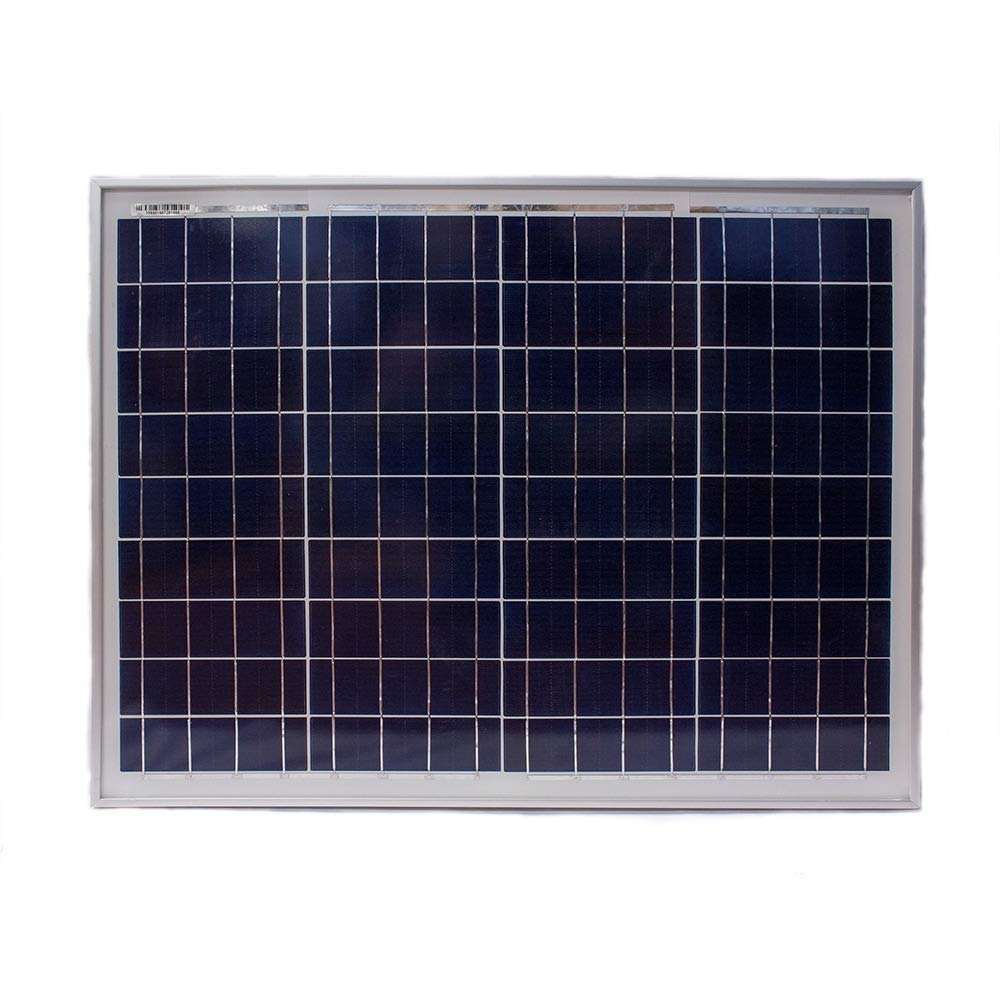 50 Watt Polycrystalline Solar Panel - Mighty Max Battery brand product by Mighty Max Battery (Image #1)