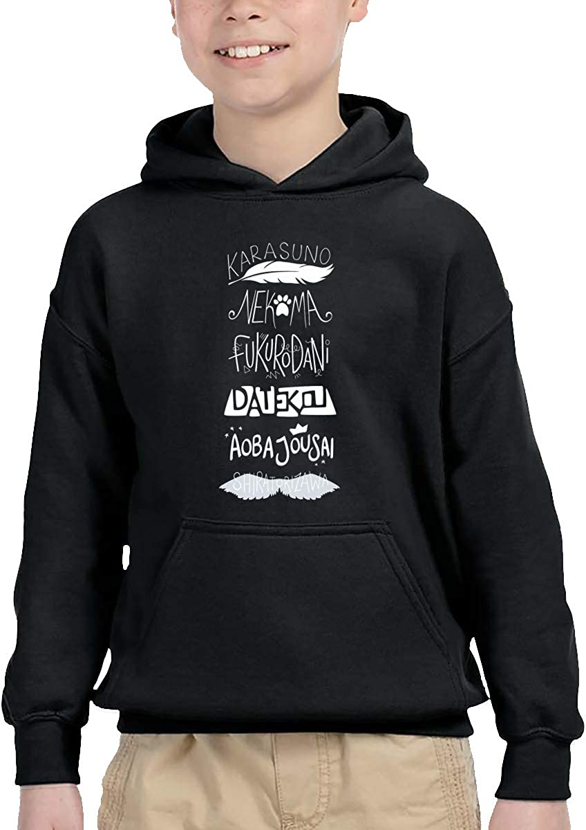 HATUO Fma Ouroboros Kids Children Hooded Sweatshirt Boys Girls Pullover Hoodie with Pocket