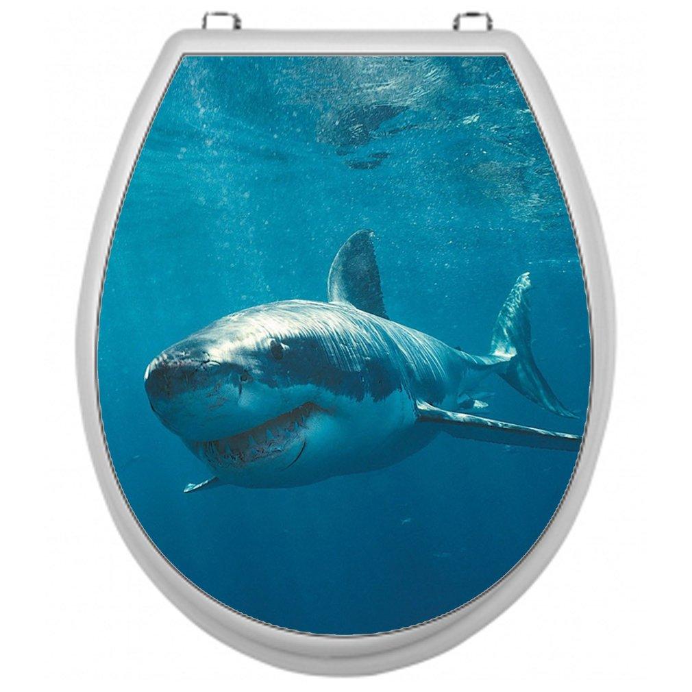 Adesivi per stanza Sedile WC Sedile WC adesivi–Motivo Hai Shirt-2-Go TSAU015