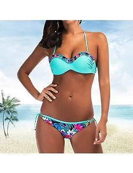 CHENG Bikini Traje De Baño De Playa Ropa De Baño De Mujer ...