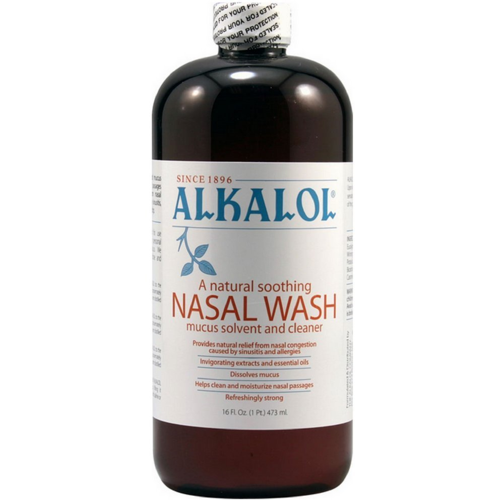 Buy Alkalol a Natural Soothing Nasal Wash Mucus Solvent and