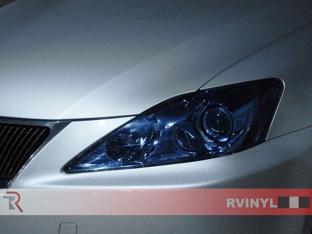 Rvinyl Rtint Headlight Tint Covers for Lexus is 2006-2010 Application Kit