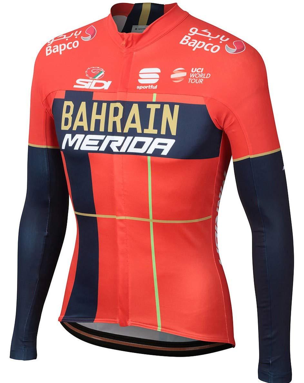 大好き 自転車ウェア 2019 B07P737DZK Bahrain Merida Lサイズ 自転車ウェア Merida 長袖ジャージ Bodyfit pro B07P737DZK, 地球問屋:8b3e6d52 --- credibem.com.br