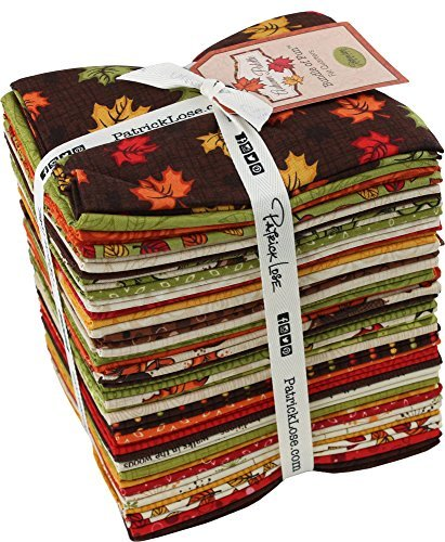 Seasonal Celebrations Autumn Palette 36 Fat Quarters Patrick Lose Fabrics ()