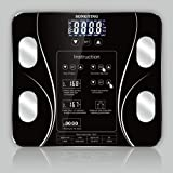 Body Fat Scale, Smart BMI Scale Digital Bathroom Wireless Weight Scale Body Composition Analyzer Health Monitor High Precision Measuring Weighing Scale for BMI Body Weight Fat