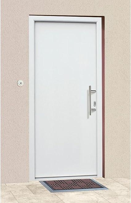 KM meeth Valla GmbH de aluminio para puerta A01 fijo métrica BxH: 108 X 208 cm, blanco Derecho, color blanco: Amazon.es: Bricolaje y herramientas