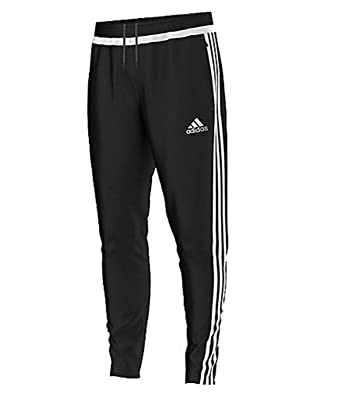 aea22ff4e Adidas Tiro15 Fleece Pants M64039 Black White Size Large  Amazon.co ...