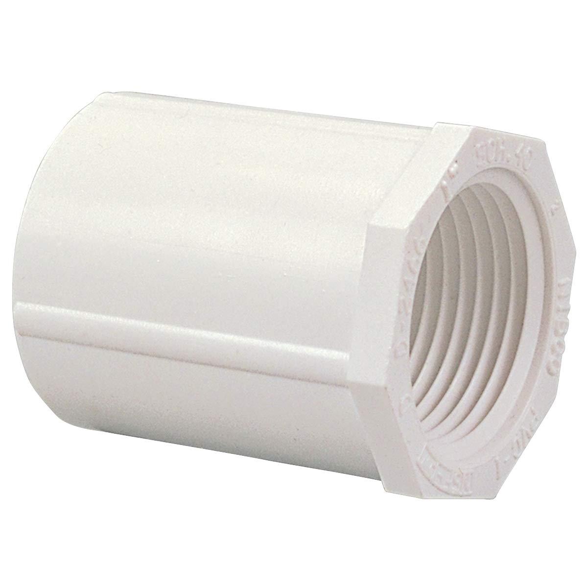 435-074 1//2X3//4 Slip x FIPT Female Adapter PVC 40
